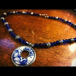 BEREBI blue necklace